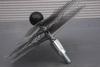 Ragebol, staal, met dubbele spiraal Ø 400 mm per stuk